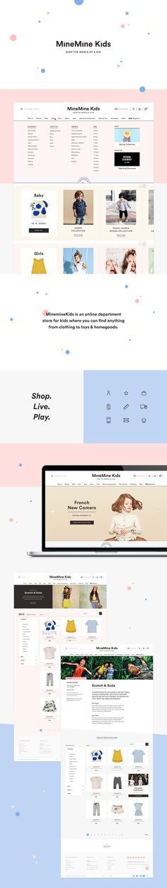 MineMine Kids Web & Branding on Behance
