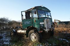 This old lorry lays in the bracken beside a footpath in Wantisden,Suffolk - Abandoned Train, Abandoned Cars, Abandoned Vehicles, Vintage Trucks, Old Trucks, Classic Trucks, Classic Cars, Vehicle Signage, Old Lorries