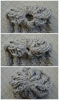Gorgeous cabled slouchy beanie crochet pattern for free! Adult or toddler sized. Also has matching handwarmers.