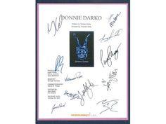 Donnie Darko Movie Script Screenplay Signed By Jake Gyllenhaal, Jena Malone, James Duval, Maggie Gyllenhaal, Ashley Tisdale, Patrick Swayze