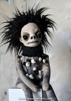 Creepy horror dolls made just for you! Demon voodoo dolls for dark magic, witchcraft and spooky home decor. Gothic horror Art Dolls, all OOAK one-of-a-kind! Creepy Horror, Horror Art, Magick, Witchcraft, Watchover Voodoo Doll, Creepy Baby Dolls, Cute Halloween Makeup, Creepy Vintage, Gothic Dolls