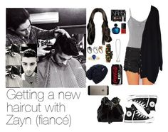 """Getting a new haircut with Zayn"" by myllenna-malik ❤ liked on Polyvore featuring Piha, Converse, maurices, Zoe Karssen, FourMinds, NARS Cosmetics, Chanel, River Island, Goti and Blue Crown"