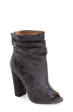 5adcd53369b4 Kristin Cavallari  Liam  Peep Toe Bootie (Women) available at  Nordstrom  Booties
