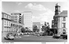 View of Nairobi Kenya 1957