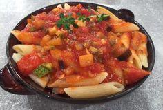 Ριγκατόνι με σάλτσα λαχανικών-featured_image Cookbook Recipes, Cooking Recipes, Food Categories, Thai Red Curry, Food And Drink, Healthy Eating, Pasta, Vegan, Gastronomia