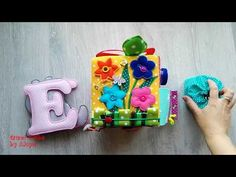 Quiet Cube, Letters and Memory Game for Eliška (no felt) Memory Games, Birthday Candles, Cube, Letters, Memories, Book, Youtube, Handmade, Ideas