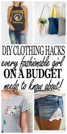 7dc88ac8b4 The BEST clothing hacks to keep you looking stylish but save money! Click  through to