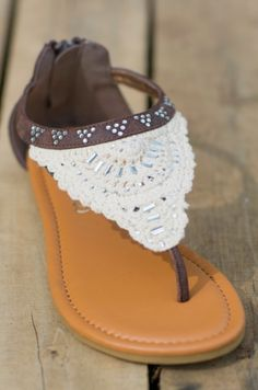 Chics In The City Sandals - $20.99 #southernfriedchics