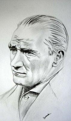 portrait - Famous Last Words Abstract Drawings, Easy Drawings, Pencil Drawings, Charcoal Drawings, Face Sketch, Stencils, Sketch Notes, Simple Doodles, Vincent Van Gogh