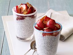 Giada's Chia Seed Pudding #ChiaPudding #Recipe #GreekYogurt