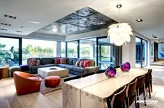 Architecture office Antoni Associates designed Pearl Valley 276 home with beautiful modern interiors. House is located in Paarl town in the. Home, Modern Interior, Contemporary House, Furniture, Interior Architecture Design, Luxury Living, Interior Design, House Interior, Living Spaces