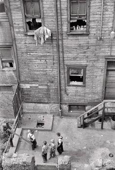 "July 1938. ""Slums in Pittsburgh, Pennsylvania.""junipergallery Fine-Art Prints by Juniper Gallery"