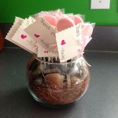 DIY baby shower party favors