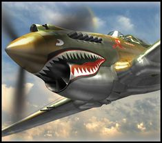 flying tigers P-40