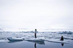 你們一起走過極凍的邊緣 / Spiritual Landscapes by Maria Kjartans