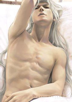 sephiroth x kadaj photo: Sephiroth tumblr_maabb2x1iY1rybh15o1_500.jpg