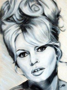 Brigitte Bardot by cricrisouv {from France} ~ pastels