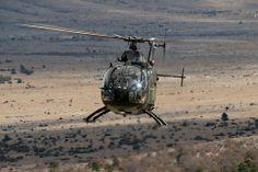 Hubschrauber BO-105 in Südfrankreich by Bundeswehr-Fotos Wir.Dienen.Deutschland., via Flickr