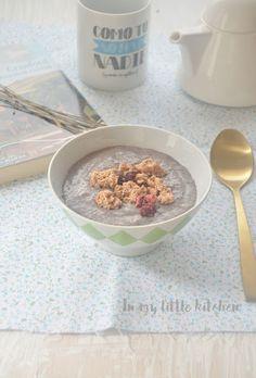 Puddin de chía para desayunar