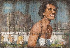 Ohne Titel, 2004  Öl auf Holzplatte  162 x 235 cm  © Nachlass des Künstlers  Fotonachweis: Thule G. Jug Museum, Image, Pictures, Canvas, Board, Paint, Wood Slab, Art, Museums