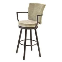 Boudoir 26 Counter Height Cardin Swivel Stool by Amisco - Becker Furniture World - Bar Stool Twin Cities, Minneapolis, St. Extra Tall Bar Stools, Bar Stools With Backs, Upholstered Bar Stools, Swivel Counter Stools, Kitchen Stools, Banquettes, Round Chair, Nebraska Furniture Mart, Cafe Chairs