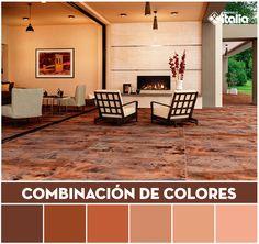 El color madera, es un fuerte atrayente para los hogares, es un tono que nunca pasara de moda, debido a que se asocia con la naturaleza y sobre todo la armonía.   #Combinacióndecolores #ColorMatching #wood #Madera