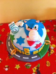 Inspired Photo of Sonic The Hedgehog Birthday Cake . Sonic The Hedgehog Birthday Cake Sonic Hedgehog Birthday Cake Boy Birthday Cake Birthday Sonic Birthday Cake, Sonic Cake, Sonic Birthday Parties, Sonic Party, Mario Birthday Party, Novelty Birthday Cakes, 8th Birthday, Birthday Party Decorations, Birthday Ideas