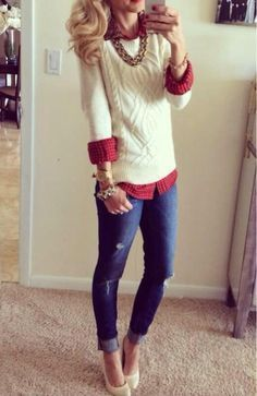 17 Cute Holiday Outfits For Teenage Girls To Try this Season