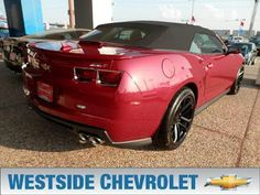 Westside Chevrolet Houston,TX: Chevrolet Camaro - top 3 in affordable convertible...