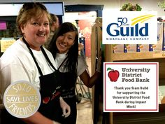 Thank you Guild Mortgage! #food #foodbank #charity #sozofriends