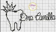 Bordado Cross Stitch Baby, Counted Cross Stitch Kits, Pixel Art, Sewing Crafts, Diy And Crafts, Embroidery, Feelings, Cross Stitch Patterns, Simple Cross Stitch