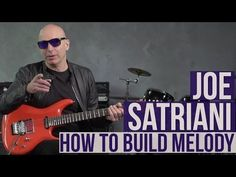 Joe Satriani Guitar Lesson - How to Build Melody Harmonica Lessons, Music Lessons, Guitar Tips, Guitar Songs, Guitar Chords And Scales, Ukulele Chords, All Music Instruments, Guitar Fingers, Guitar Exercises