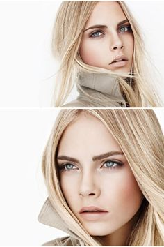 Cara Delevigne: Gorgeous Makeup! I just wish they didn't photoshop her that much