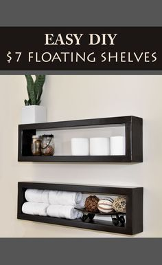 Cheap and simple DIY shelving project.