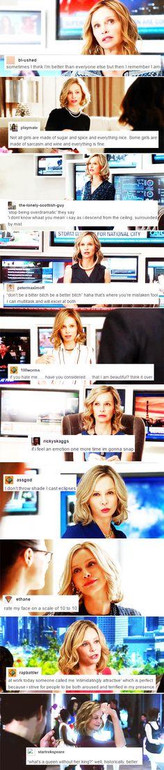 Cat Grant + popular text posts ~ part 4 #supergirl
