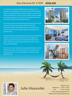 New Real Estate Email Flyer Designs