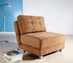 Shop a great selection of Gold Sparrow New York Convertible Chair Bed, Brown. Find new offer and Similar products for Gold Sparrow New York Convertible Chair Bed, Brown. Sleeper Chair, Chair Bed, Sofa Beds, Couch, New Living Room, Living Room Chairs, Small Living, Modern Living, Living Spaces