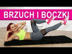 PŁASKI BRZUCH - DOMOWY TRENING NA BRZUCH I BOCZKI - YouTube Gym Workouts, At Home Workouts, Thigh Exercises, Zumba, Videos Funny, Lose Belly Fat, Hiit, Personal Trainer, Fitness Inspiration