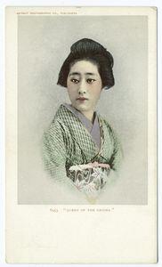 """""""Queen of the Geisha"""", c1902"""