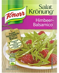 -in USA- Knorr Salat Kronung Raspberry Balsamic Salad Dressing - 5 packets -