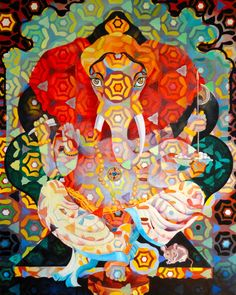 #Ganesha by Rachel Teannalach