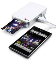 LG Pocket #Photo Printer-PD233 Discover LG's Smart #Mobile Printers
