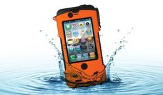 The SLXtreme is a a rugged, waterproof, solar-charging case for the iPhone 4, 4S and 5. It was originally a Kickstarter project that received more than twice its funding goal.    Price: $129.99    Image courtesy of Snow Lizard