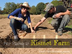 First Planting at Kismet Farm #FallPlanting, #Farming, #Gardening #Gardening