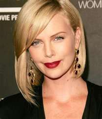 Charlize Theron's bob hairstyle