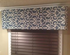 Custom Tailored Upholstered Cornice Window Treatment on Etsy, $70.00