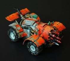 Awesome Ork Buggy Conversion #Warhammer400000