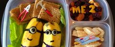 'Lunchbox Dad' Turns Plain Sandwiches And Snacks Into Edible Masterpieces