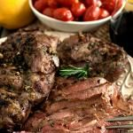 Roasted Lamb London Broil-Style