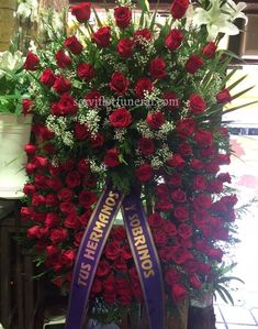 Funeral Floral Arrangements, Artificial Flower Arrangements, Artificial Flowers, Casket Flowers, Funeral Flowers, Funeral Sprays, Funeral Planning, Memorial Flowers, 4th Of July Wreath